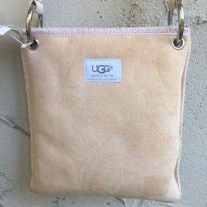 UGG Australia Suede Crossbody Bag